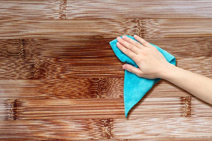 Полировка мебели подсолнечным маслом