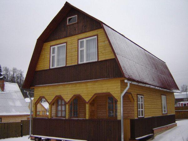 Каркасный дом из бруса становится традиционной формой жилья во многих странах мира.