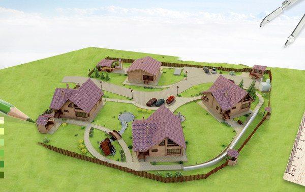 Комплексный подход к проектированию домов из бруса