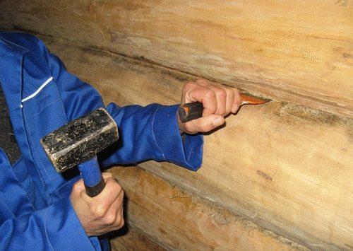 Обработка сколов и трещин