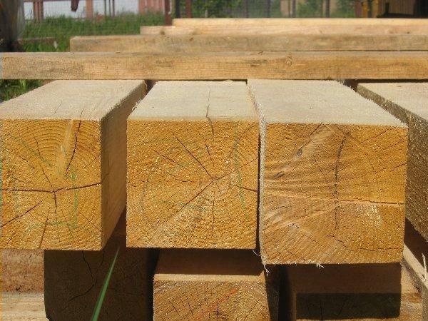 Пиломатериалы для постройки деревянного сруба