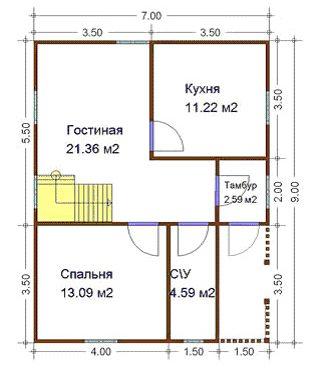План будущего здания