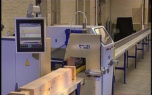 Полностью автоматизированный промышленный станок