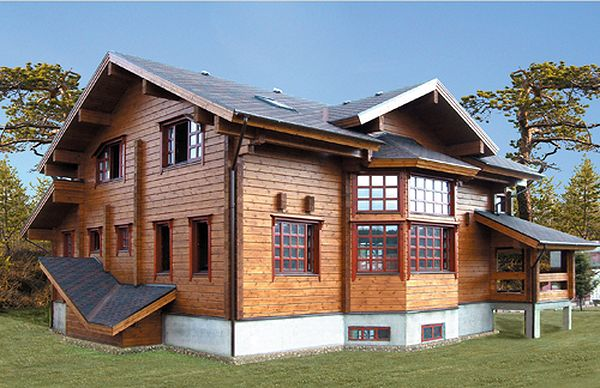 Преимущество финского дома – отсутствие усадки.