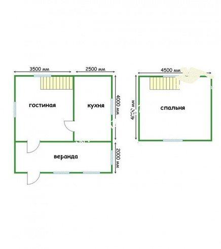 Проект дома из бруса 6х6 – хороший вариант для воплощения