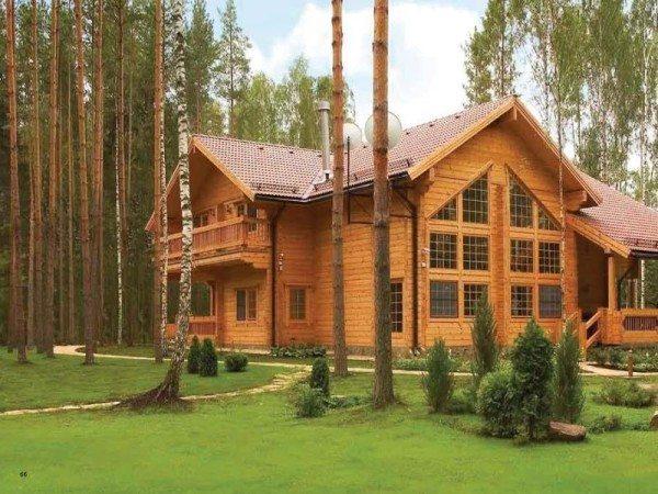 Проекты домов из дерева поражают оригинальностью и радуют разнообразием