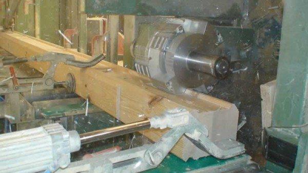 Производство профилированного бруса клееного