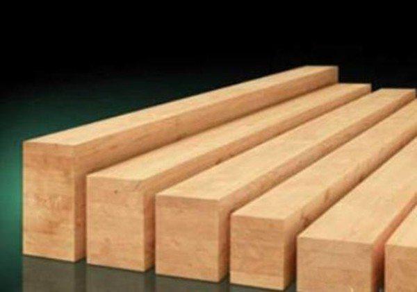 Прямоугольные заготовки из дерева