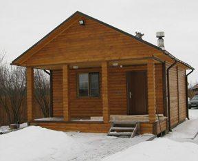 Самостоятельный проект небольшого деревянного дома