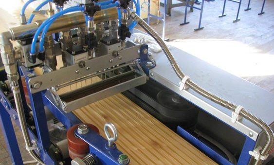 Станок для производства склеенной древесины