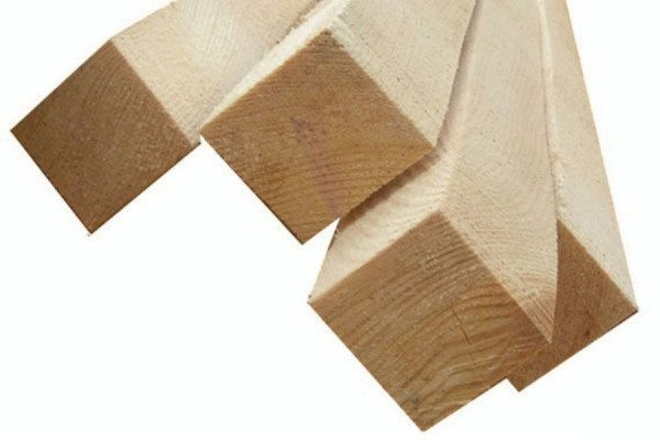 Строганные материалы пользуются большим спросом при производстве каркасов для мебели.