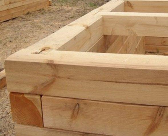Строить коробку дома из бруса достаточно просто.