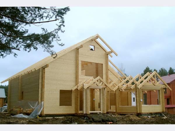 Строительство дома по финской технологии.