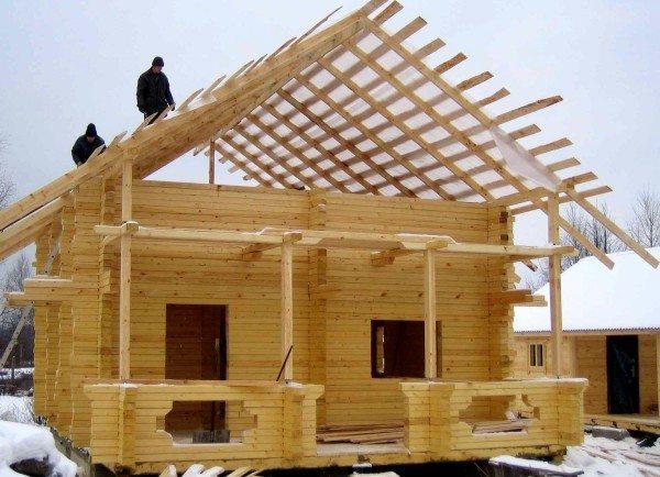 Строительство из бруса в любое время года