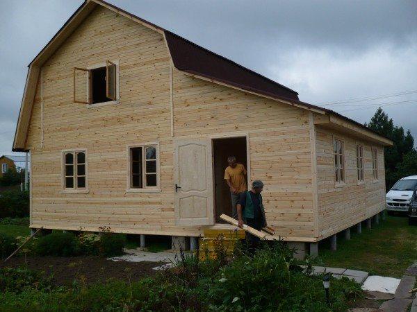 Теплосберегающий дом почти готов