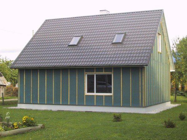 Типовое утепление с обшивкой может полностью изменить внешний вид строения