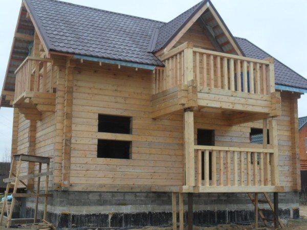 Типовой дом из бруса