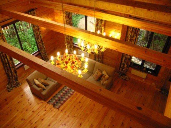 Удивительная атмосфера деревянного дома