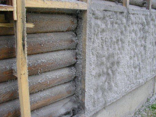 Утепление брусового дома с помощью эковаты