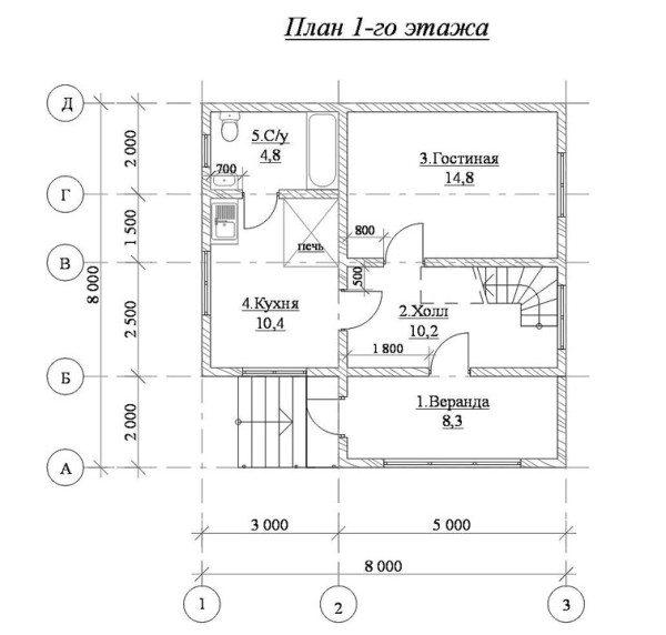 Вычислив размеры всех элементов при помощи плана, вам будет несложно провести подсчеты материала.