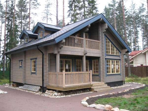 Загородный дом, доступный большинству желающих
