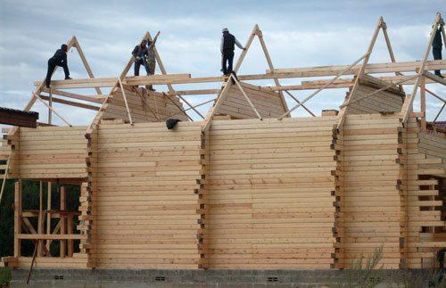 Завершающий этап – обустройство крыши