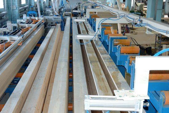 Завод по изготовлению бруса